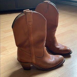 Frye women's cowboy boots!